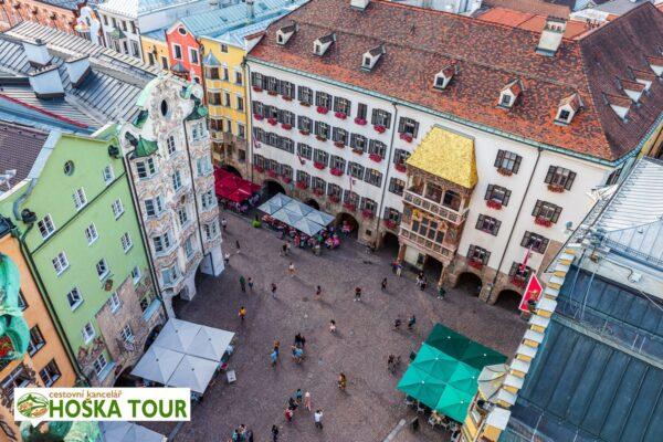 Zlatá stříška v Innsbrucku – zájezd pro školy do Alp